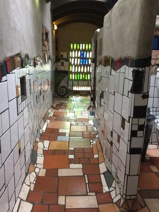 Entry to women's side- Hundertwasser toilets